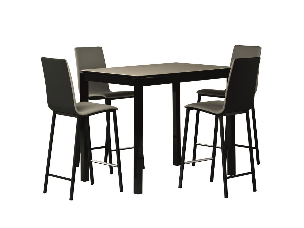 table haute extensible stunning best beautiful table et chaise de cuisine conforama table haute. Black Bedroom Furniture Sets. Home Design Ideas