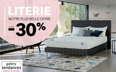 literie notre plus belle offre moncoutant. Black Bedroom Furniture Sets. Home Design Ideas