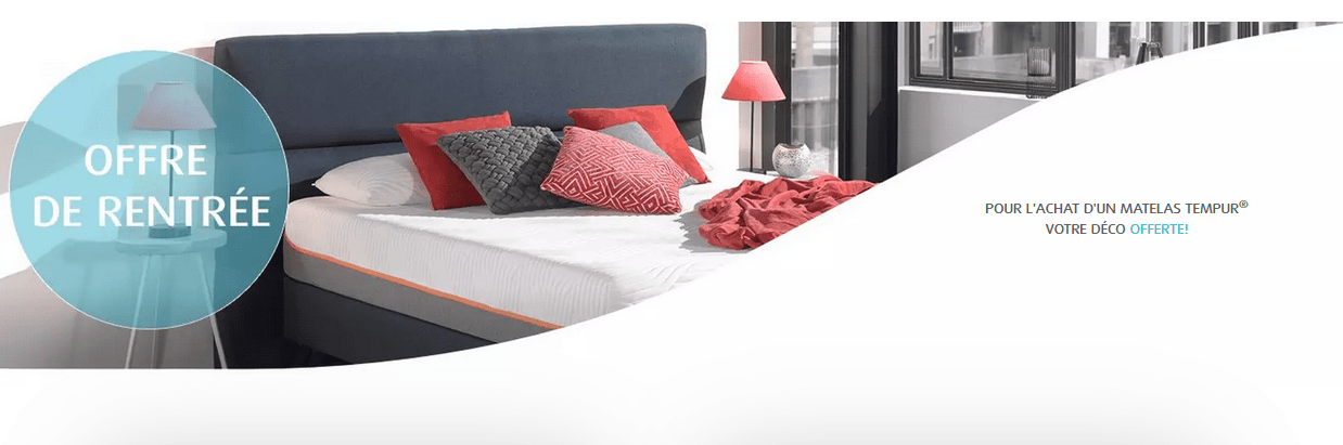 offre tempur rentree 2019